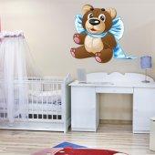 Naklejka ścienna Dla Dzieci - Niedźwiadek Chłopiec