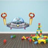 Naklejka ścienna Dla Dzieci - Robot