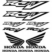Naklejka Moto - Honda RC211V