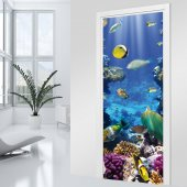 Ocean Door Stickers