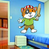 Pirate Wall Stickers