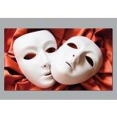 Plakat samoprzylepny - Maski