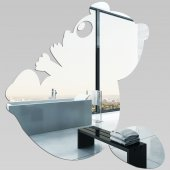 Specchio acrilico plexiglass - Panda