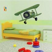 Sticker Pentru Copii Avion Rechin