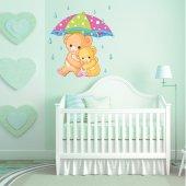 Sticker Pentru Copii Mama si Ursulet