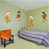Stickere copii kit Indian