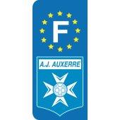 Stickers Plaque Auxerre