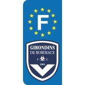 Stickers Plaque Bordeaux