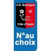 Stickers Plaque Boulogne sur Mer