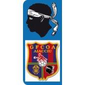Stickers Plaque GFCOA Ajaccio