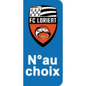 Stickers Plaque Lorient
