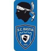 Stickers Plaque SC Bastia