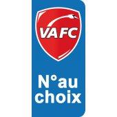 Stickers Plaque Valenciennes