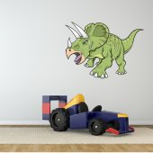 Autocollant Stickers enfant triceratops
