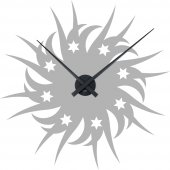 Sun Clock Wall Stickers