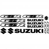 Suzuki Gsr 600 Decal Stickers kit