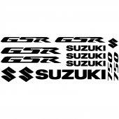 Suzuki Gsr 750 Decal Stickers kit