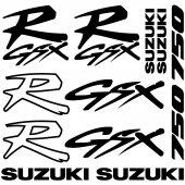 Suzuki R Gsx 750 Decal Stickers kit