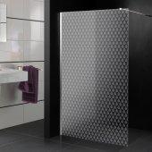 Transparentna Naklejka na Kabiny Prysznicowe - Krople Wody