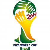 Vinilo decorativo Copa del Mundo Brasil 2014