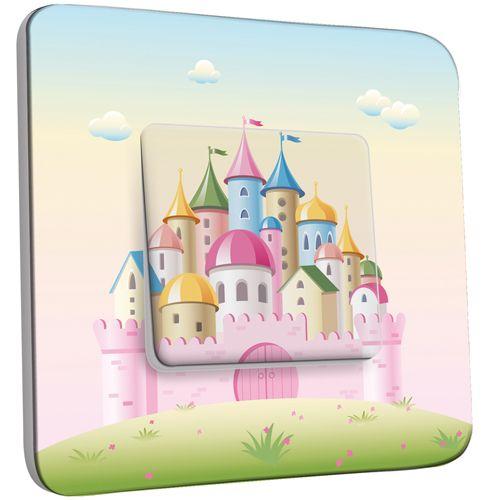 interrupteur d cor poussoir chateau 3 pas cher. Black Bedroom Furniture Sets. Home Design Ideas