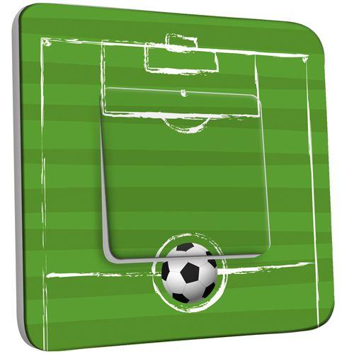 interrupteur d cor poussoir football pas cher