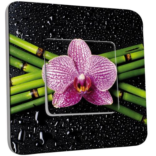 interrupteur d cor simple va et vient orchid e 1 pas cher. Black Bedroom Furniture Sets. Home Design Ideas