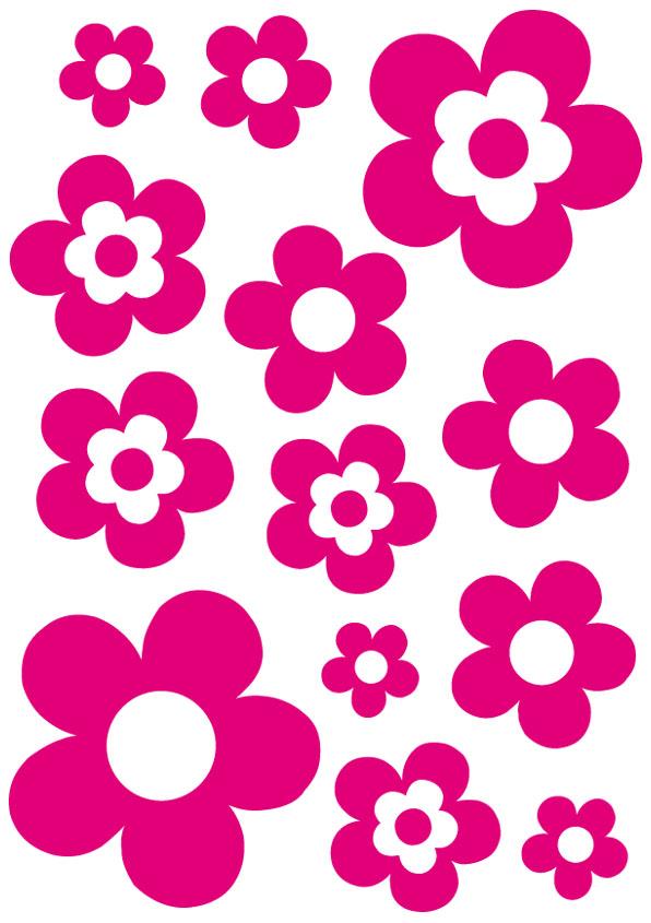 5Stickers muraux nature, florales et fleurs - Les Arts Dco