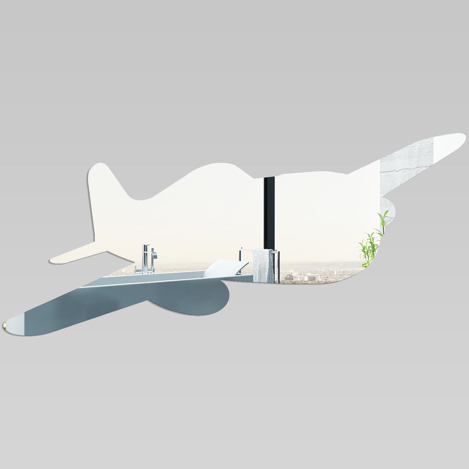 Miroir plexiglass acrylique avion pas cher for Miroir acrylique