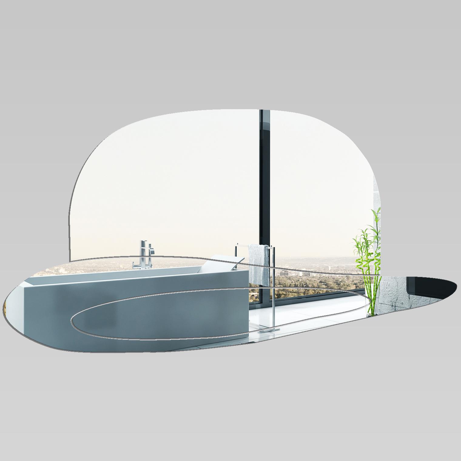 Miroir plexiglass acrylique chapeau 2 pas cher for Miroir acrylique