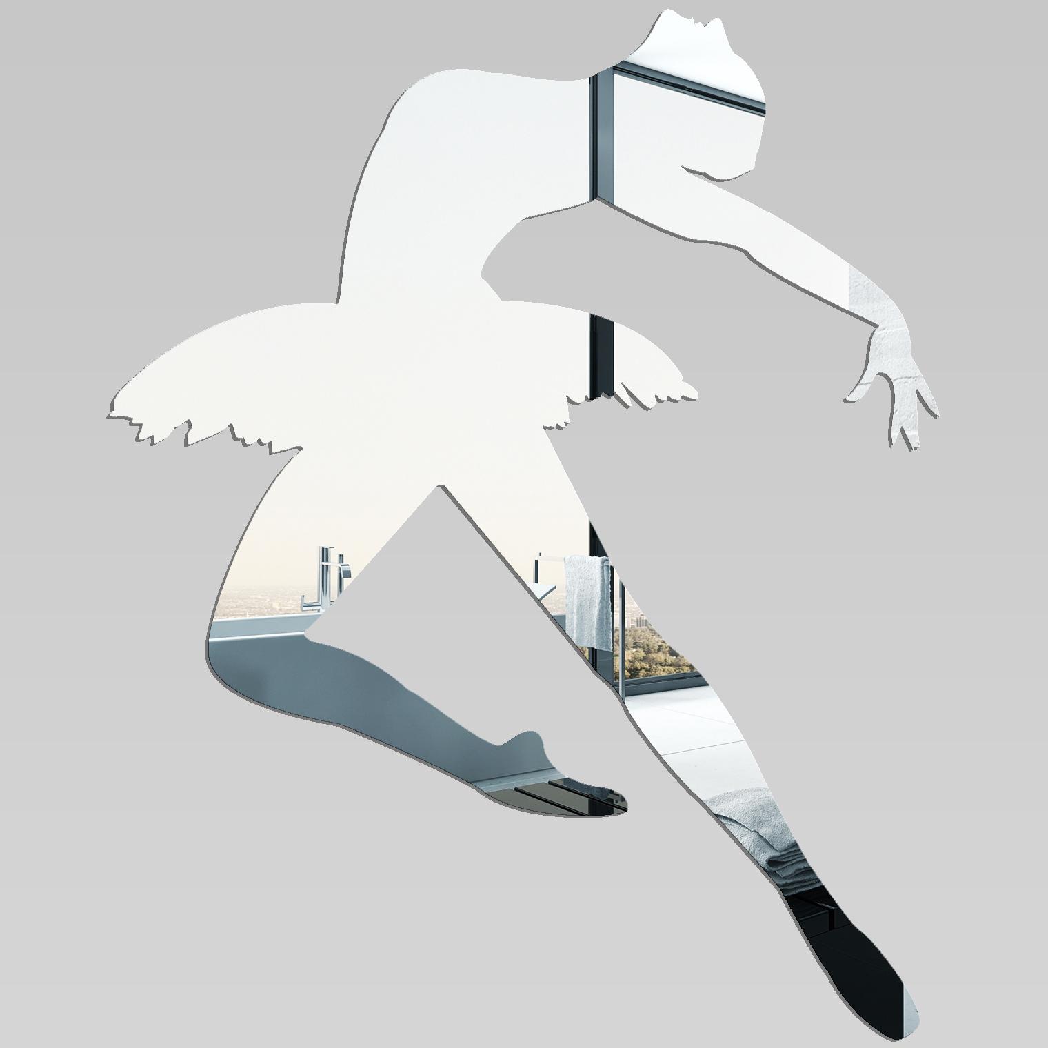 Miroir plexiglass acrylique danseuse de ballet pas cher for Miroir 40x50