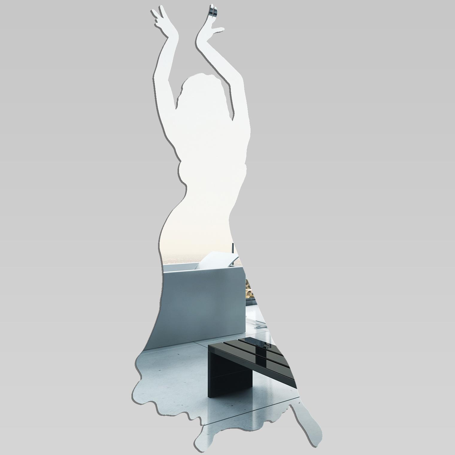 miroir plexiglass acrylique danseuse orientale pas cher. Black Bedroom Furniture Sets. Home Design Ideas