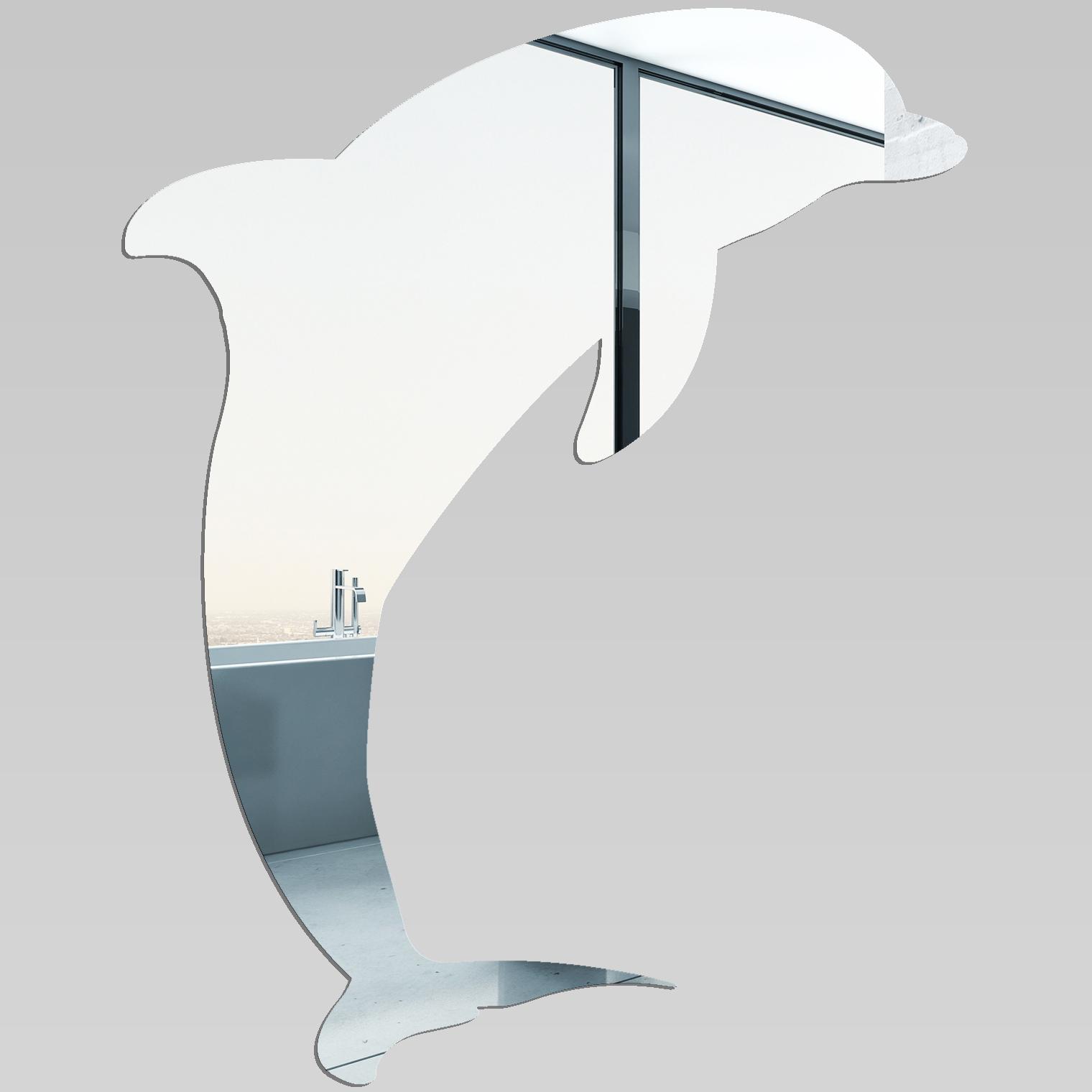 Miroir plexiglass acrylique dauphin pas cher for Miroir acrylique