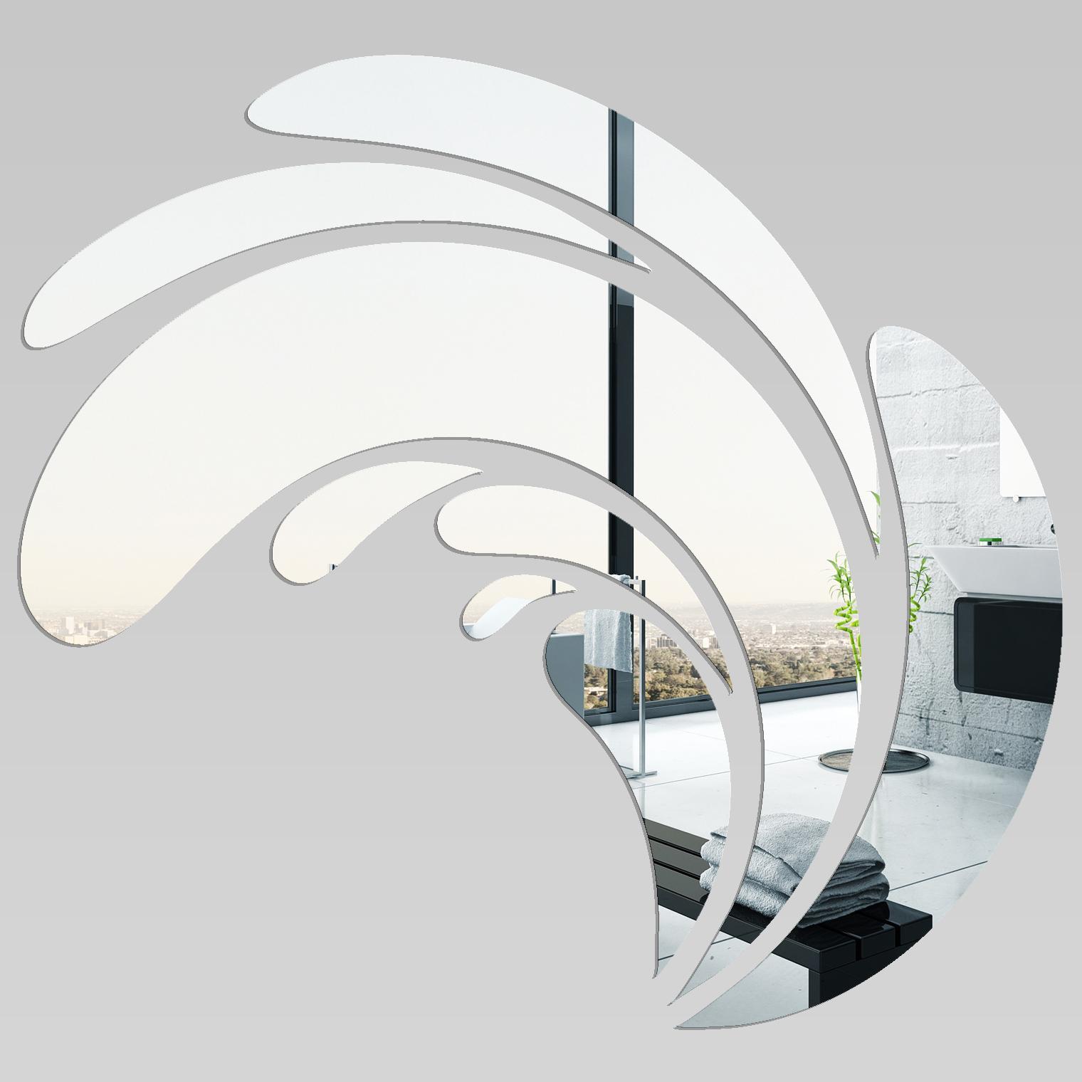 Miroir plexiglass acrylique design pas cher for Miroir acrylique