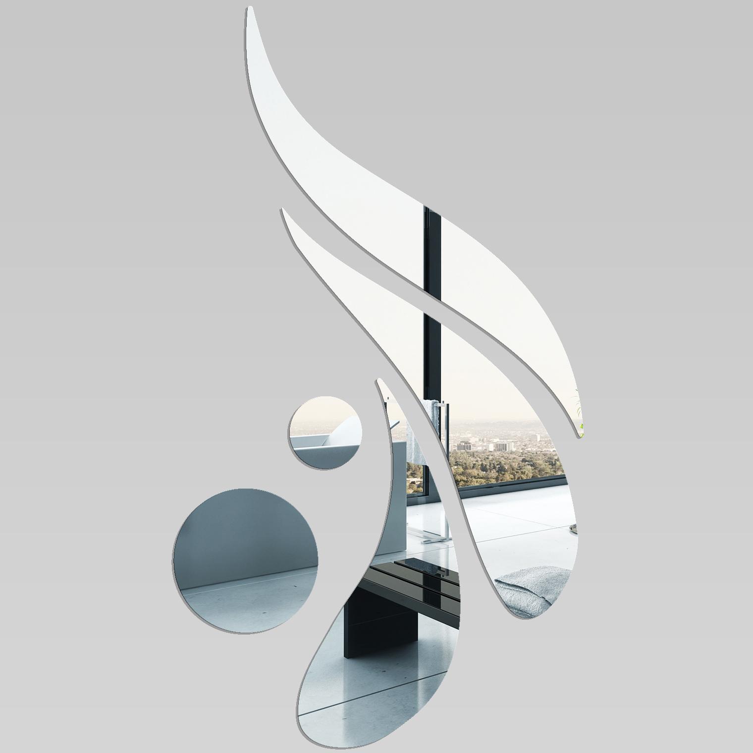 Miroir plexiglass acrylique design 4 pas cher for Miroir en acrylique