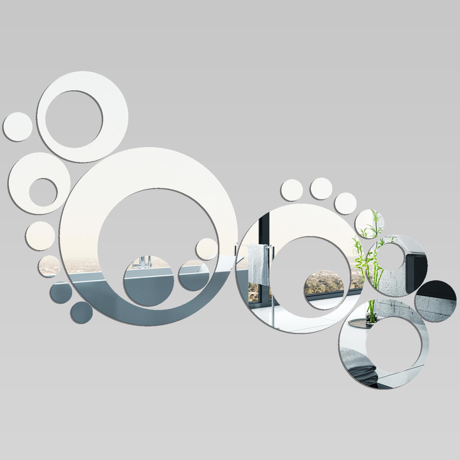 Miroir plexiglass acrylique design 7 pas cher for Miroir acrylique