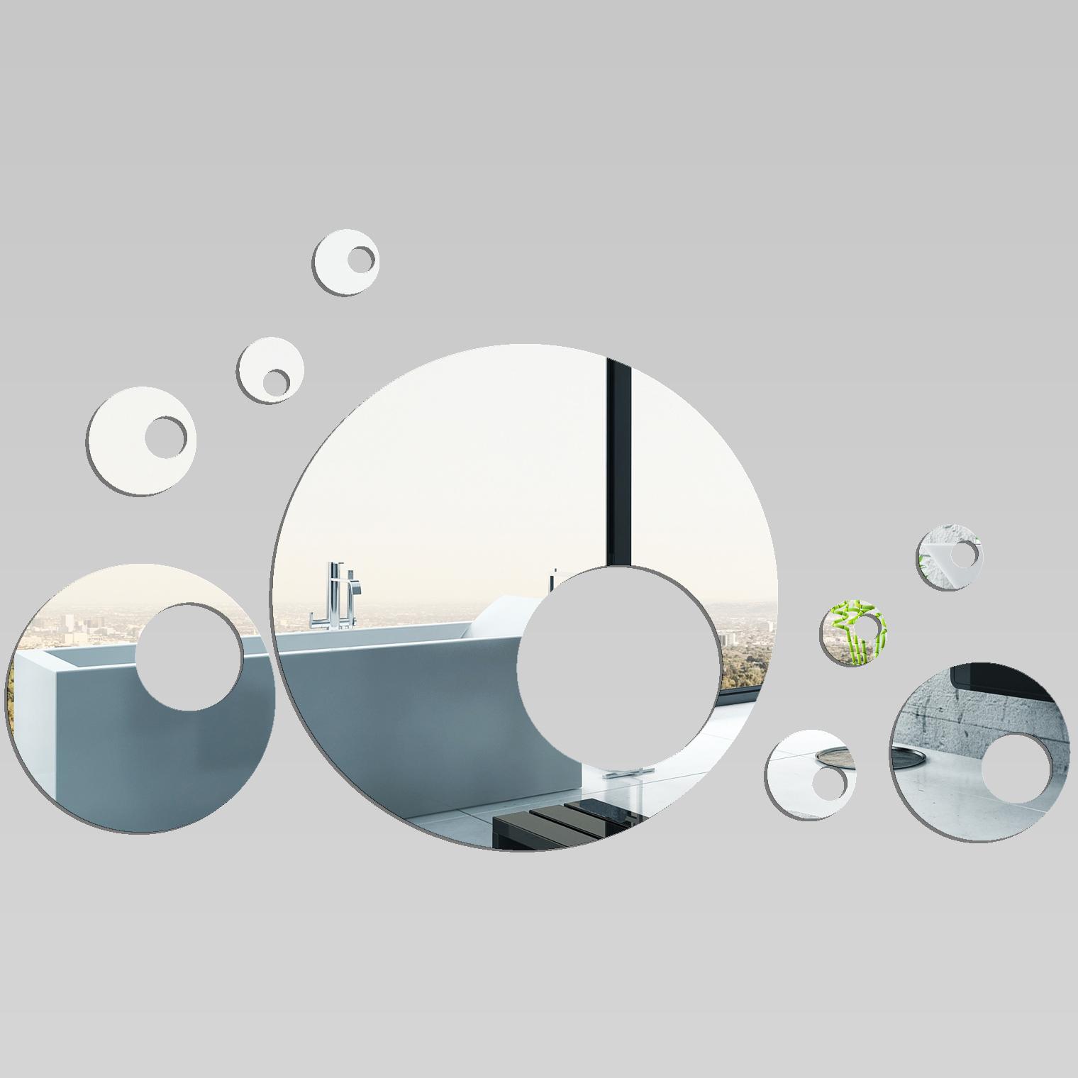 Miroir plexiglass acrylique design 9 pas cher - Wandspiegel design ...