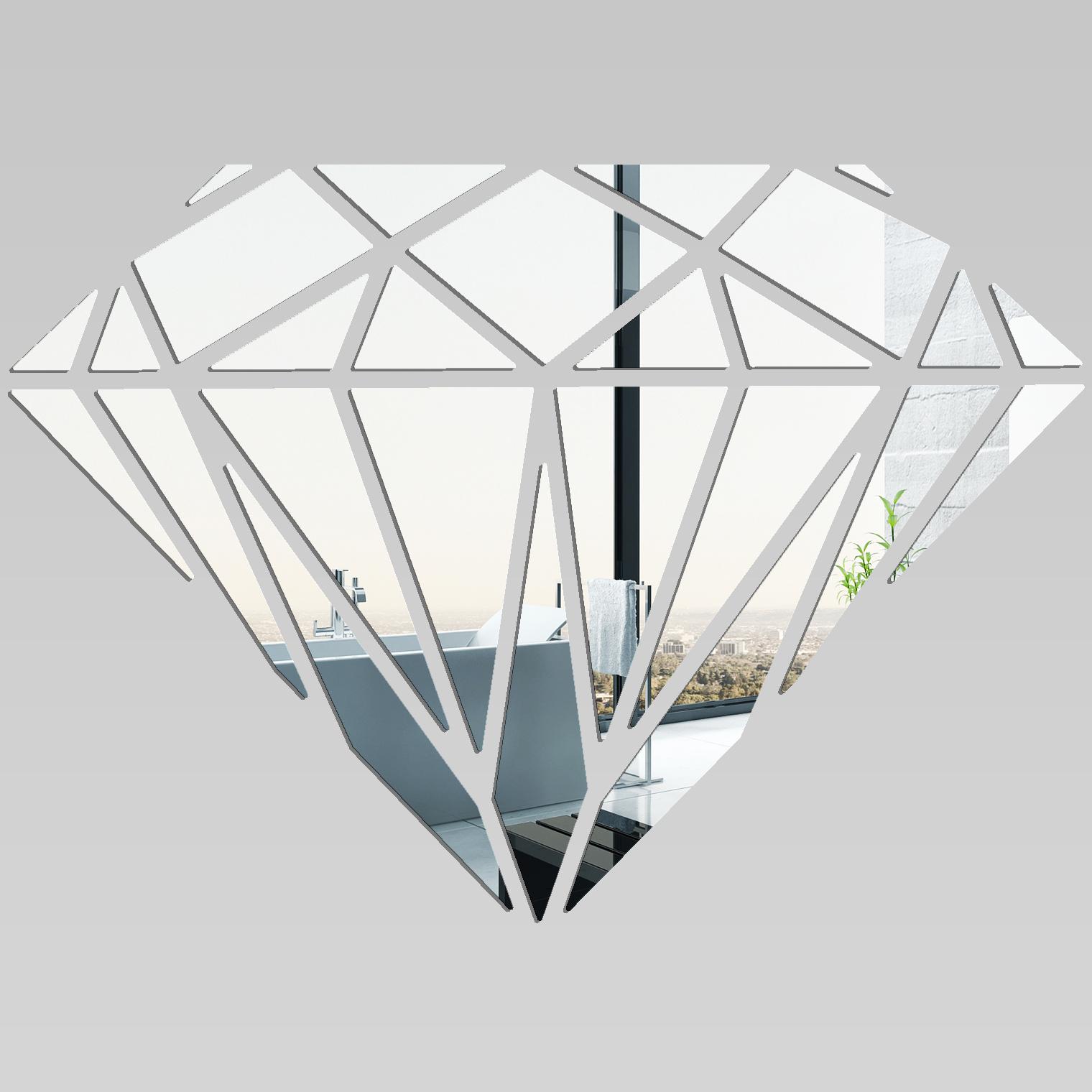 miroir plexiglass acrylique diamant pas cher