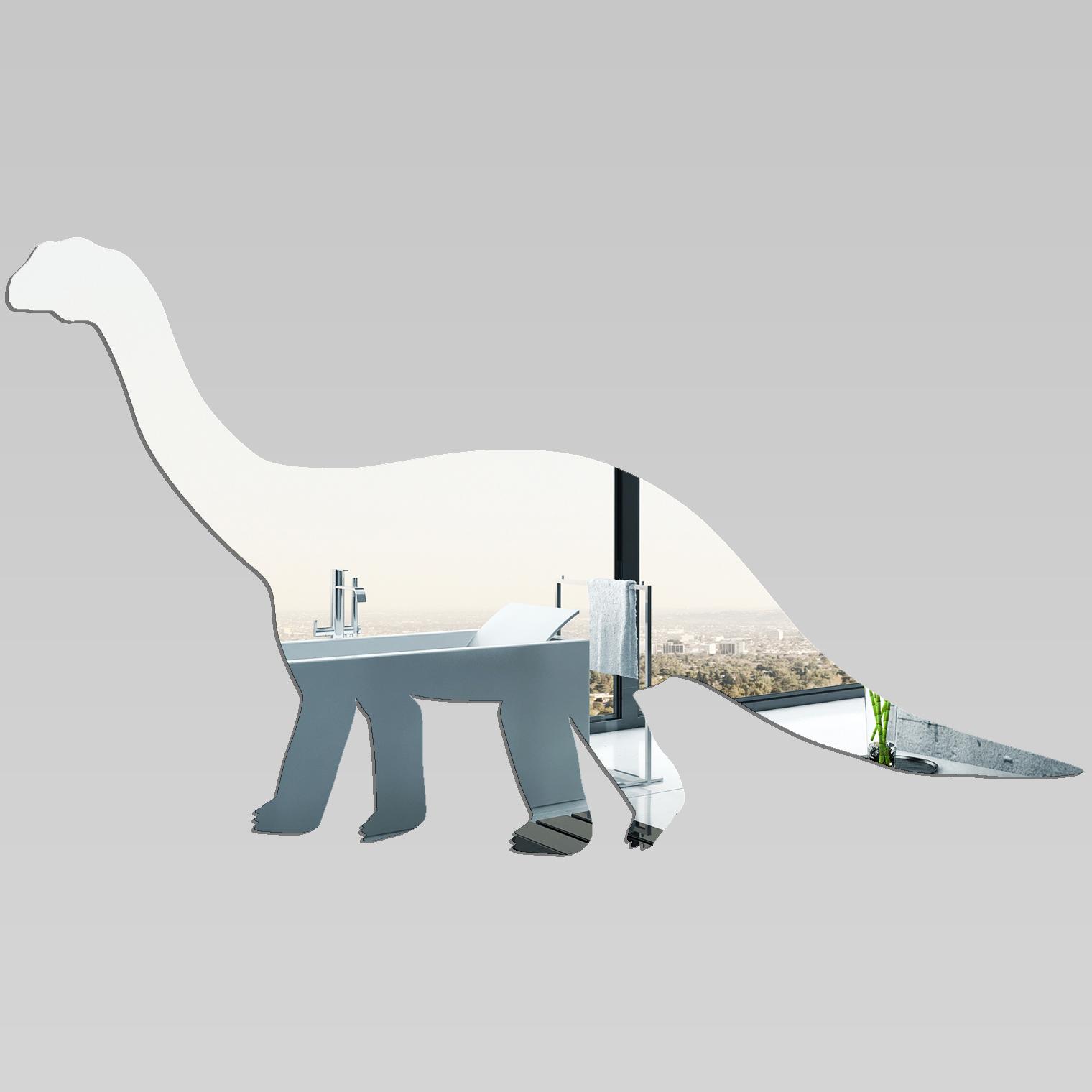 Miroir plexiglass acrylique dinosaure pas cher for Miroir acrylique