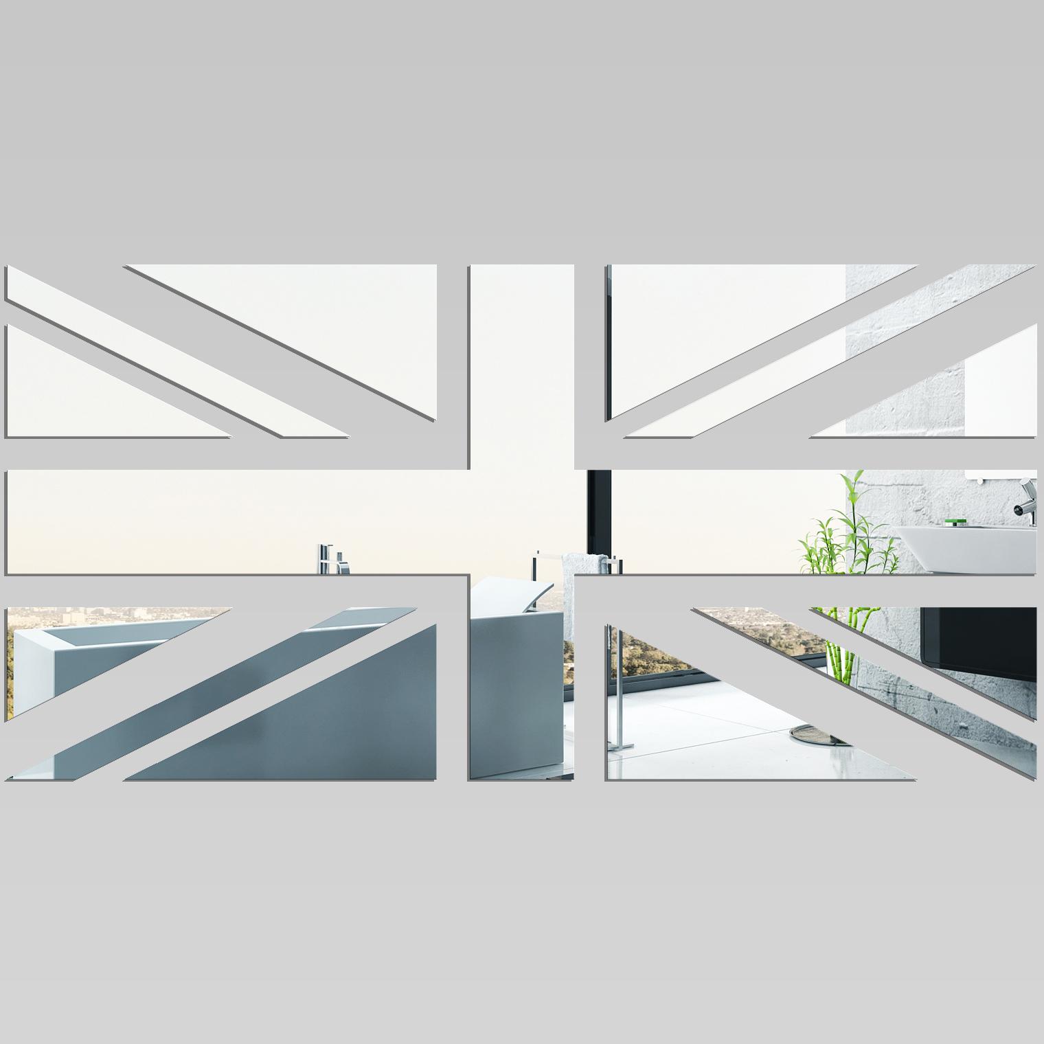 Miroir plexiglass acrylique drapeau anglais 1 pas cher for Miroir en acrylique