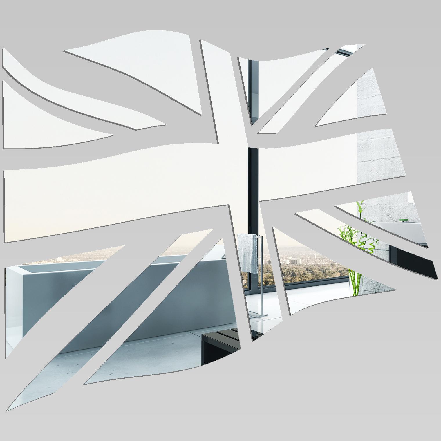 Miroir plexiglass acrylique drapeau anglais pas cher for Miroir acrylique