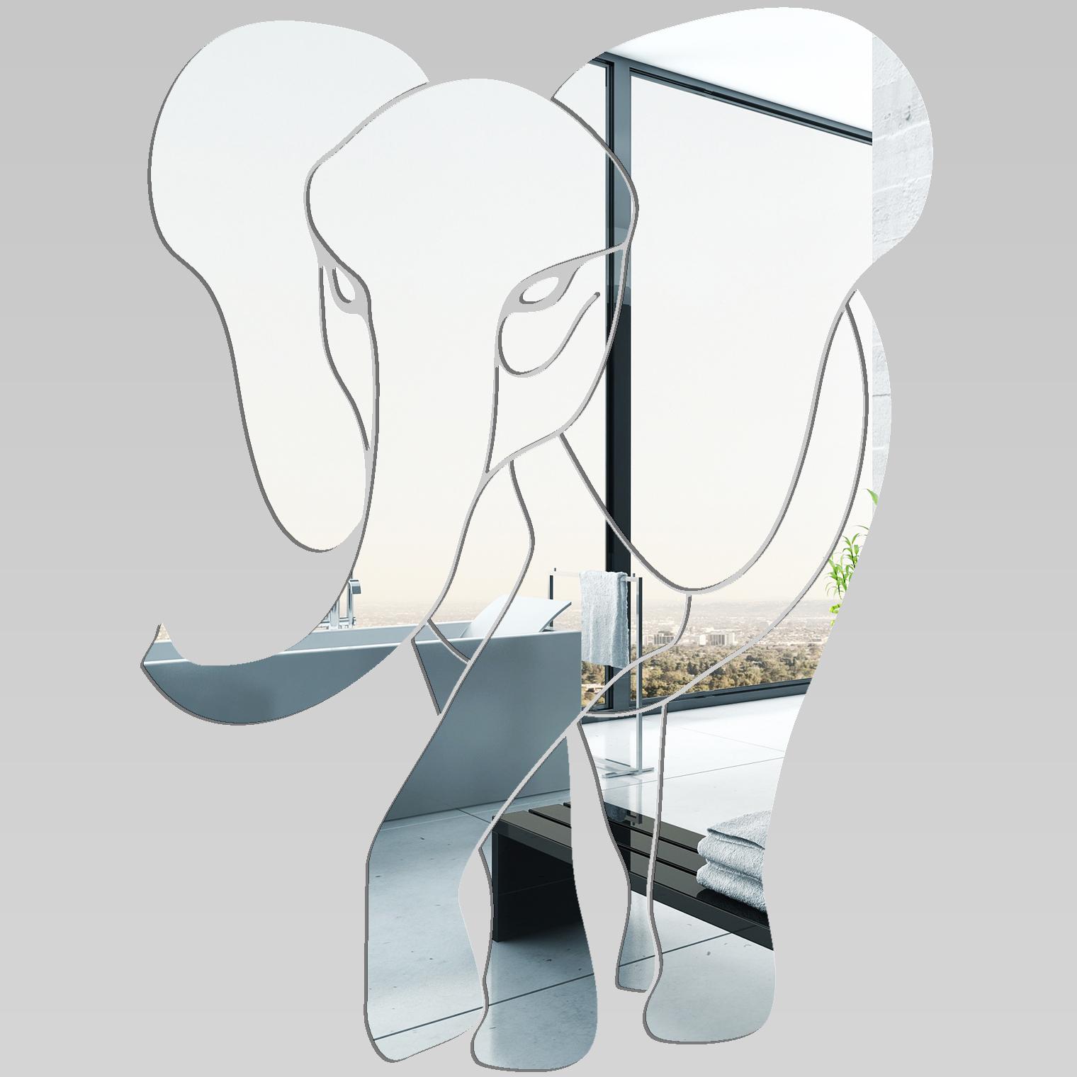 Miroir plexiglass acrylique el phant pas cher for Miroir acrylique