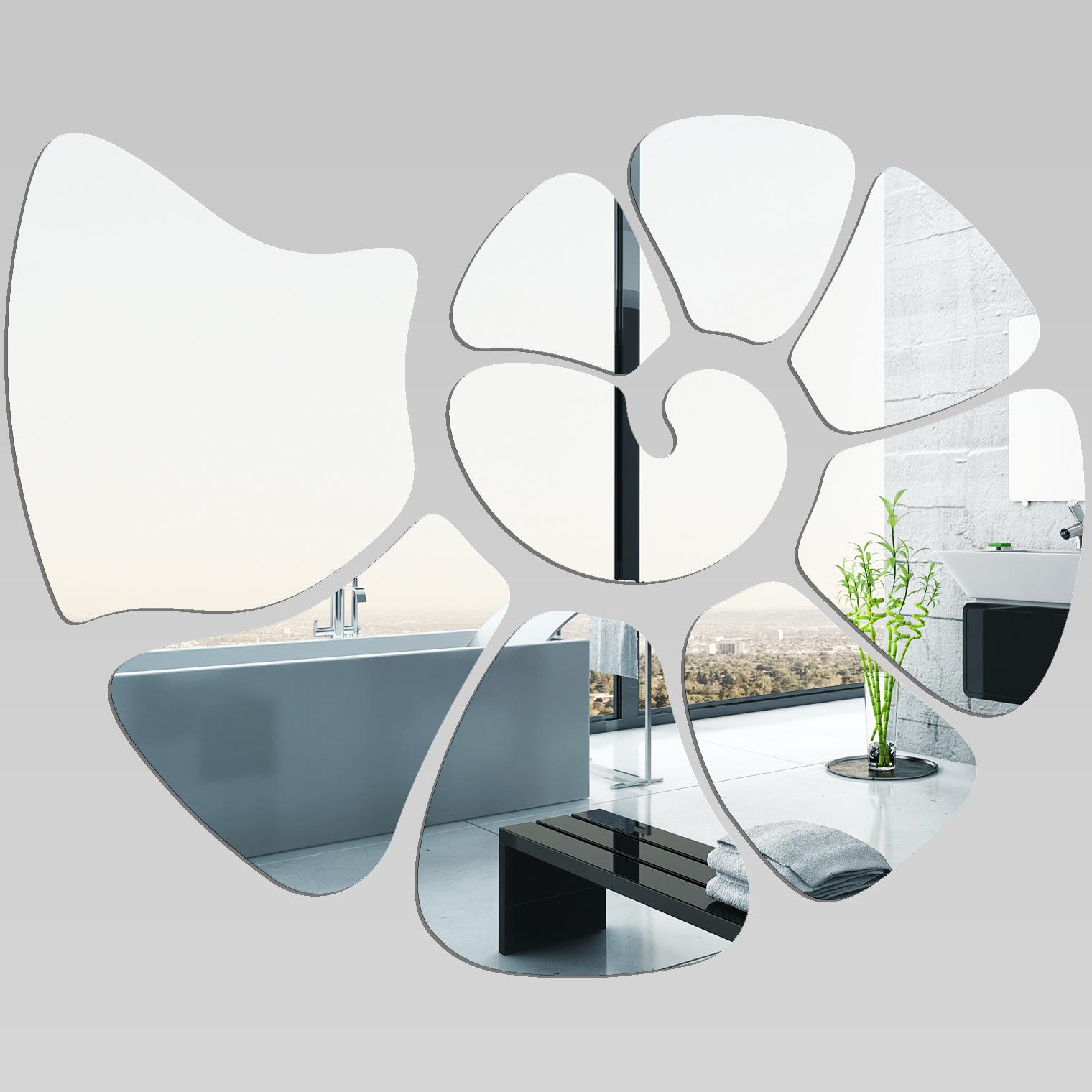 Miroir plexiglass acrylique escargot pas cher for Miroir acrylique