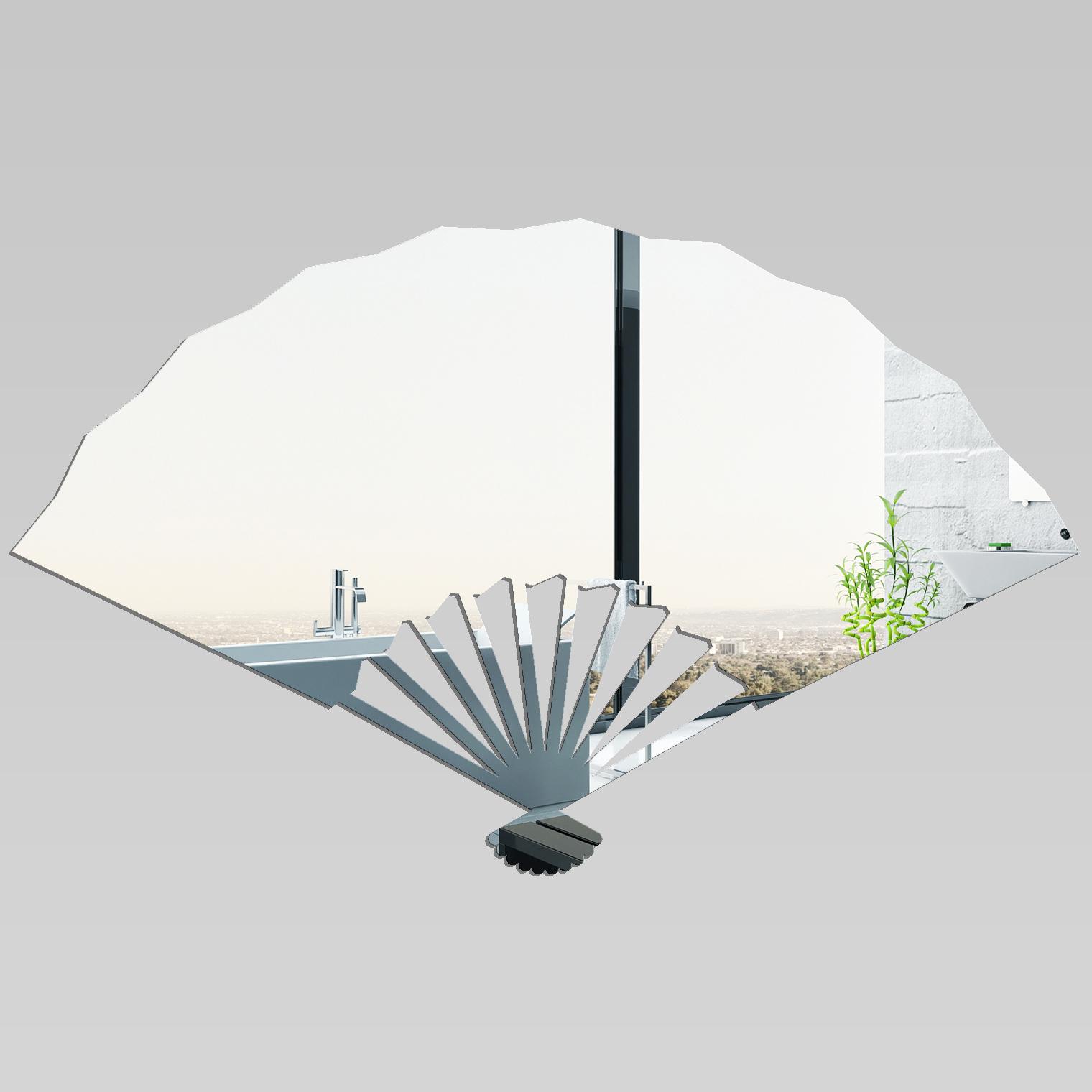 Miroir plexiglass acrylique evantail pas cher for Miroir acrylique