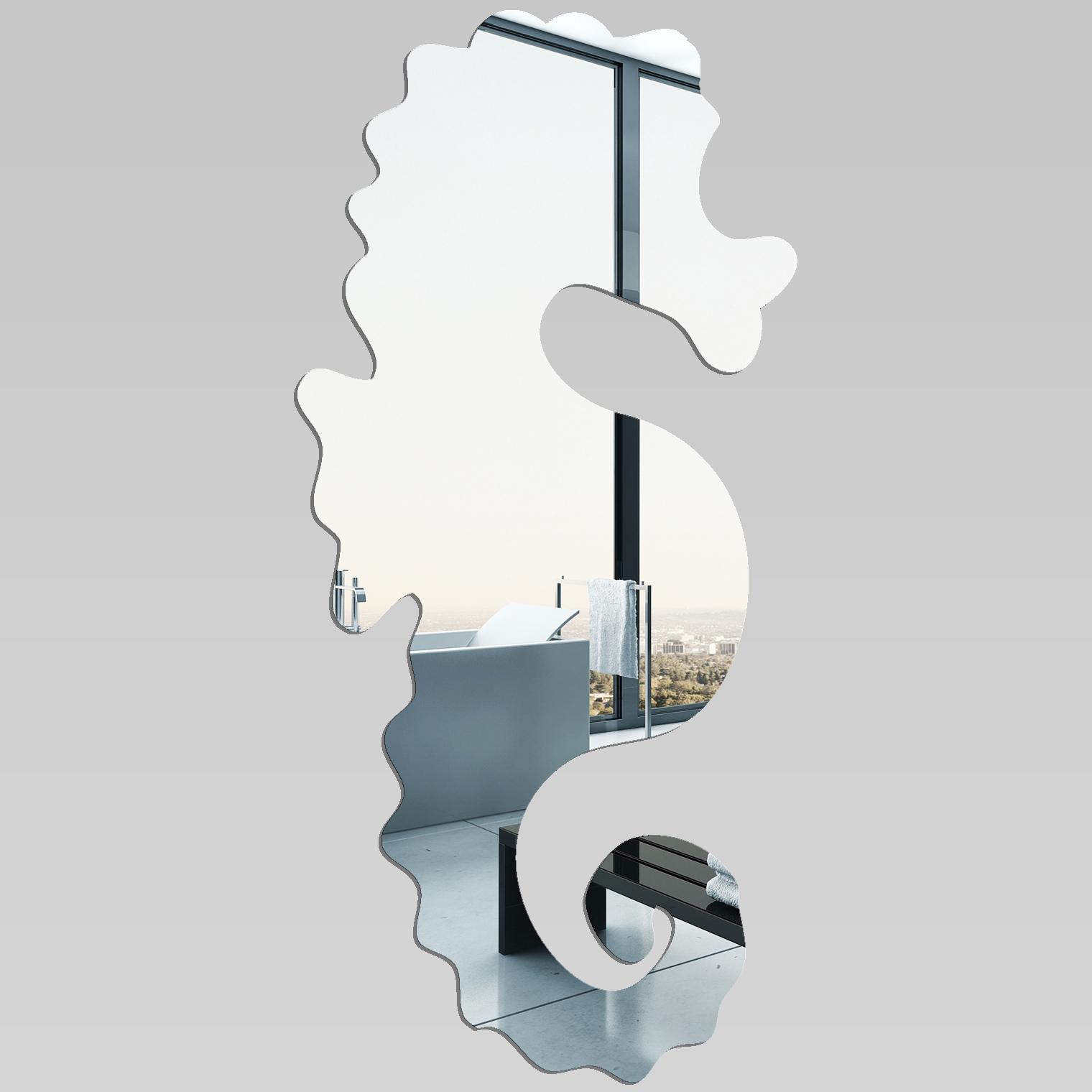 miroir plexiglass acrylique hippocampe pas cher. Black Bedroom Furniture Sets. Home Design Ideas