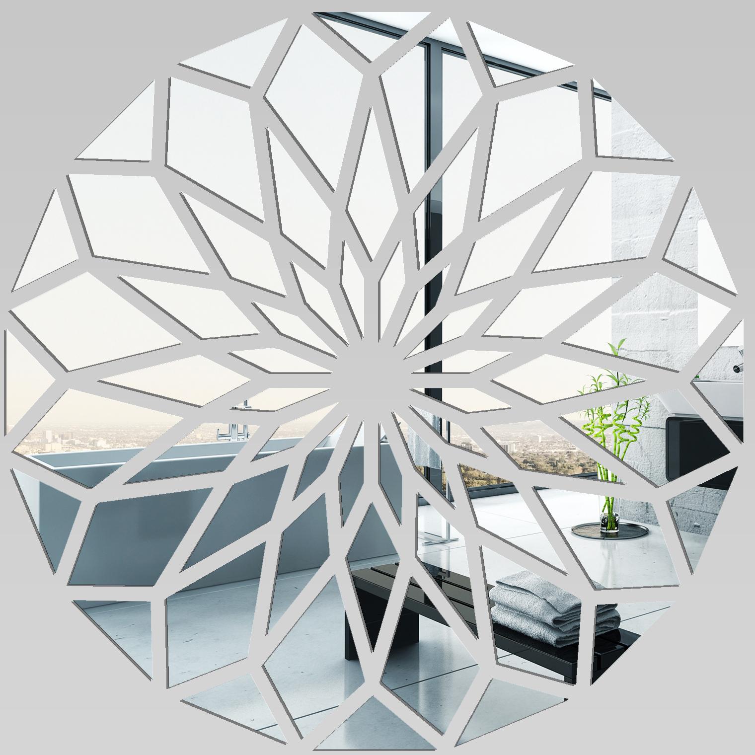 Miroir plexiglass acrylique mosa que en fleur pas cher for Stickers miroir pas cher