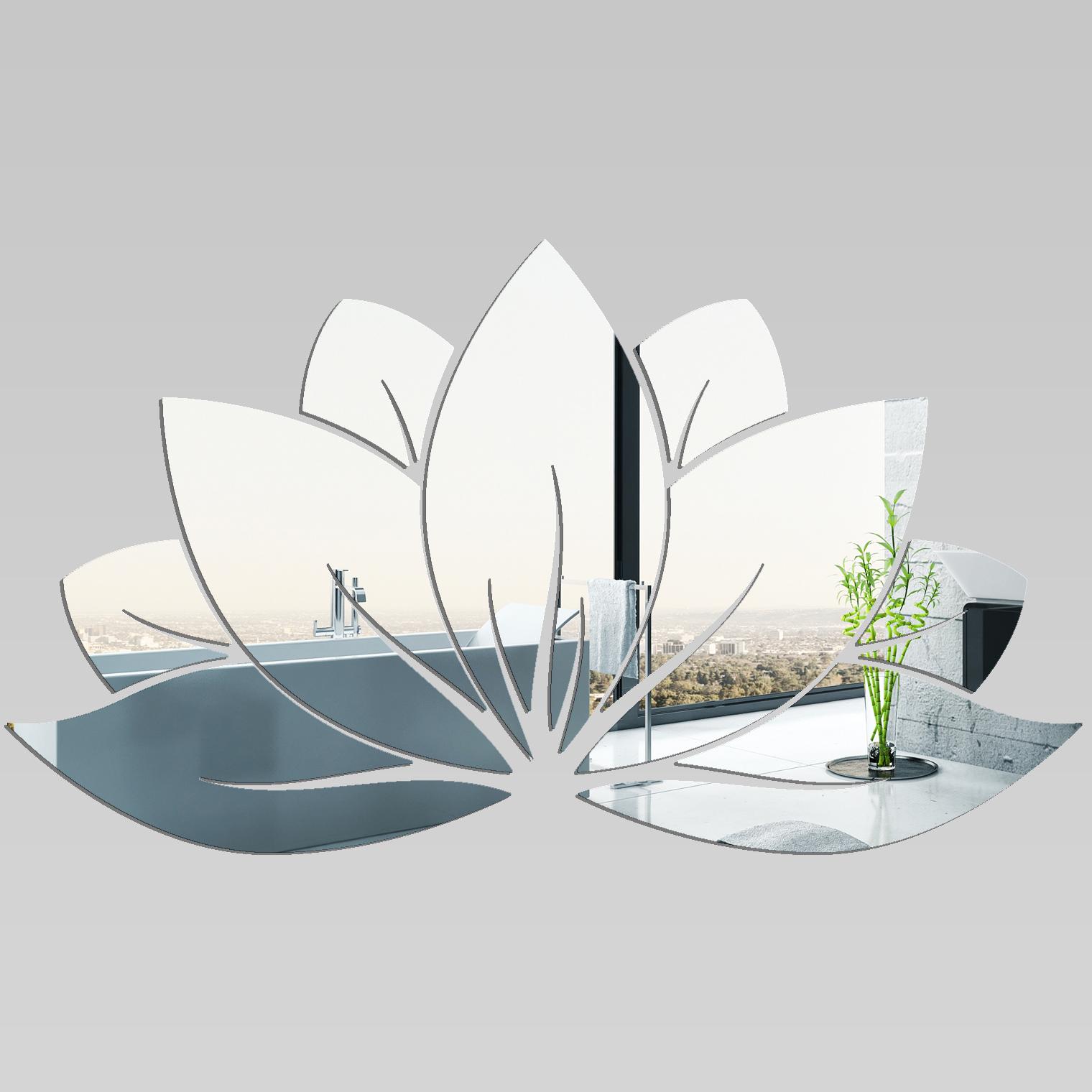 Miroir plexiglass acrylique n nuphar 2 pas cher for Miroir zen nature