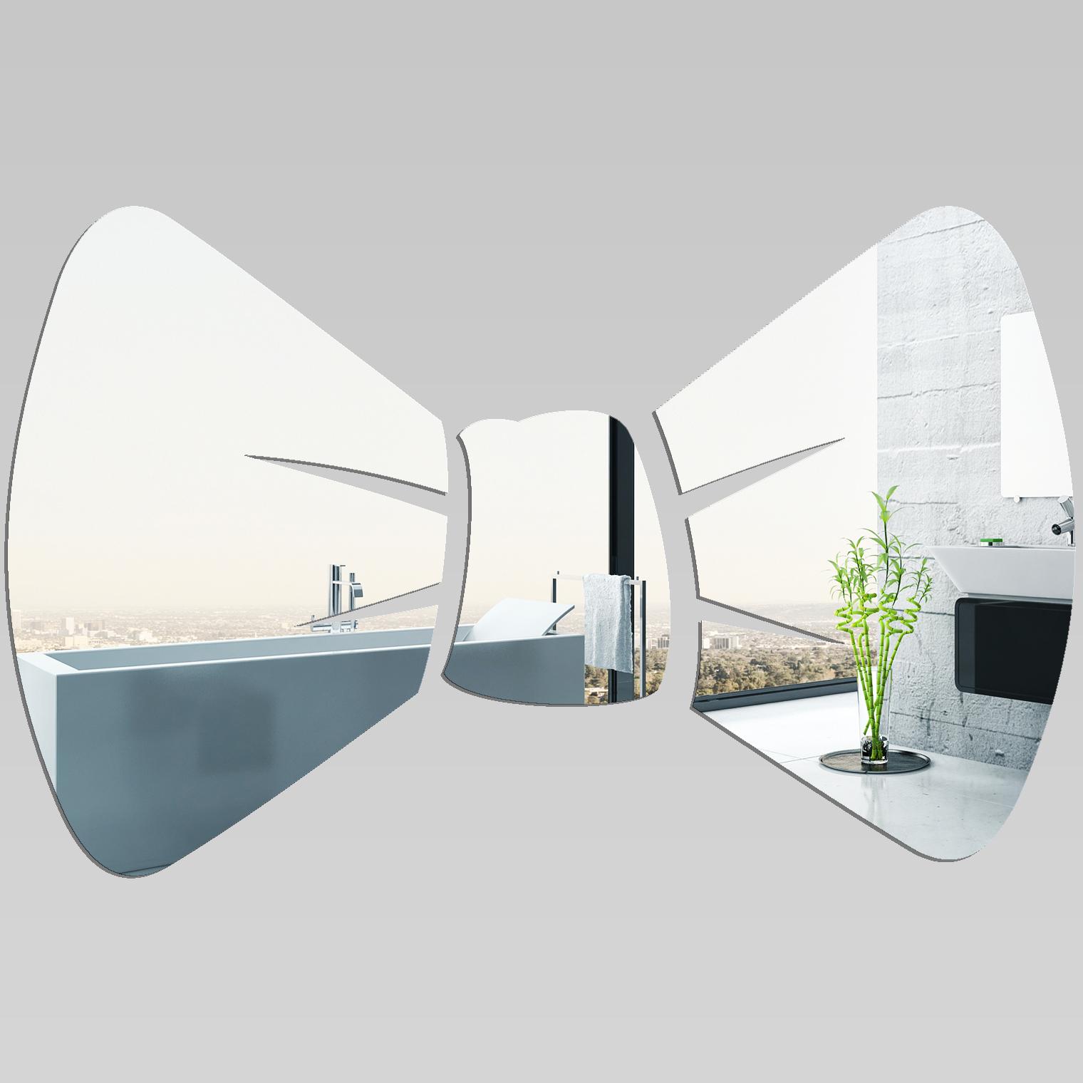 Miroir plexiglass acrylique noeud pas cher for Miroir acrylique