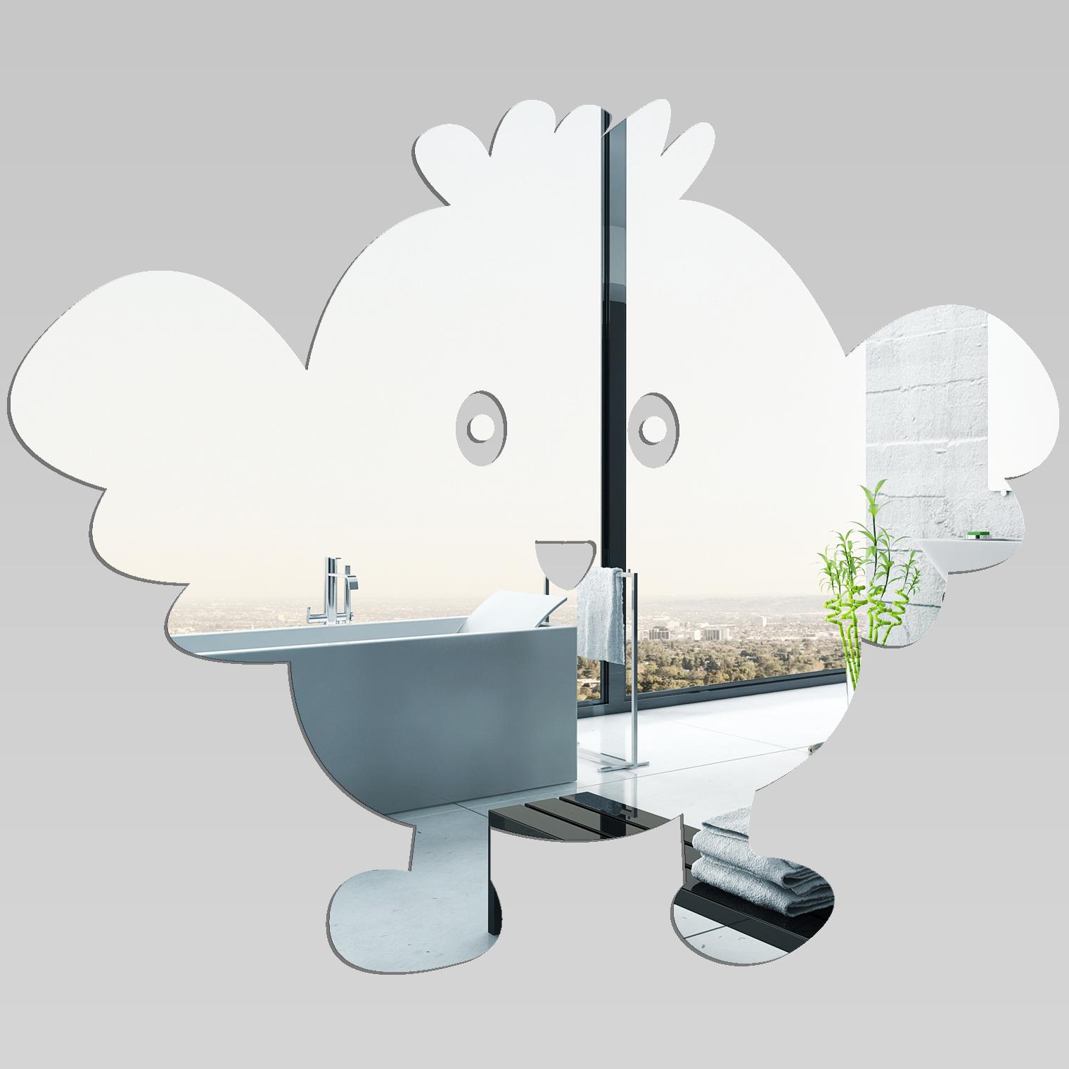 Miroir plexiglass acrylique ourson 10 pas cher for Miroir 50x60