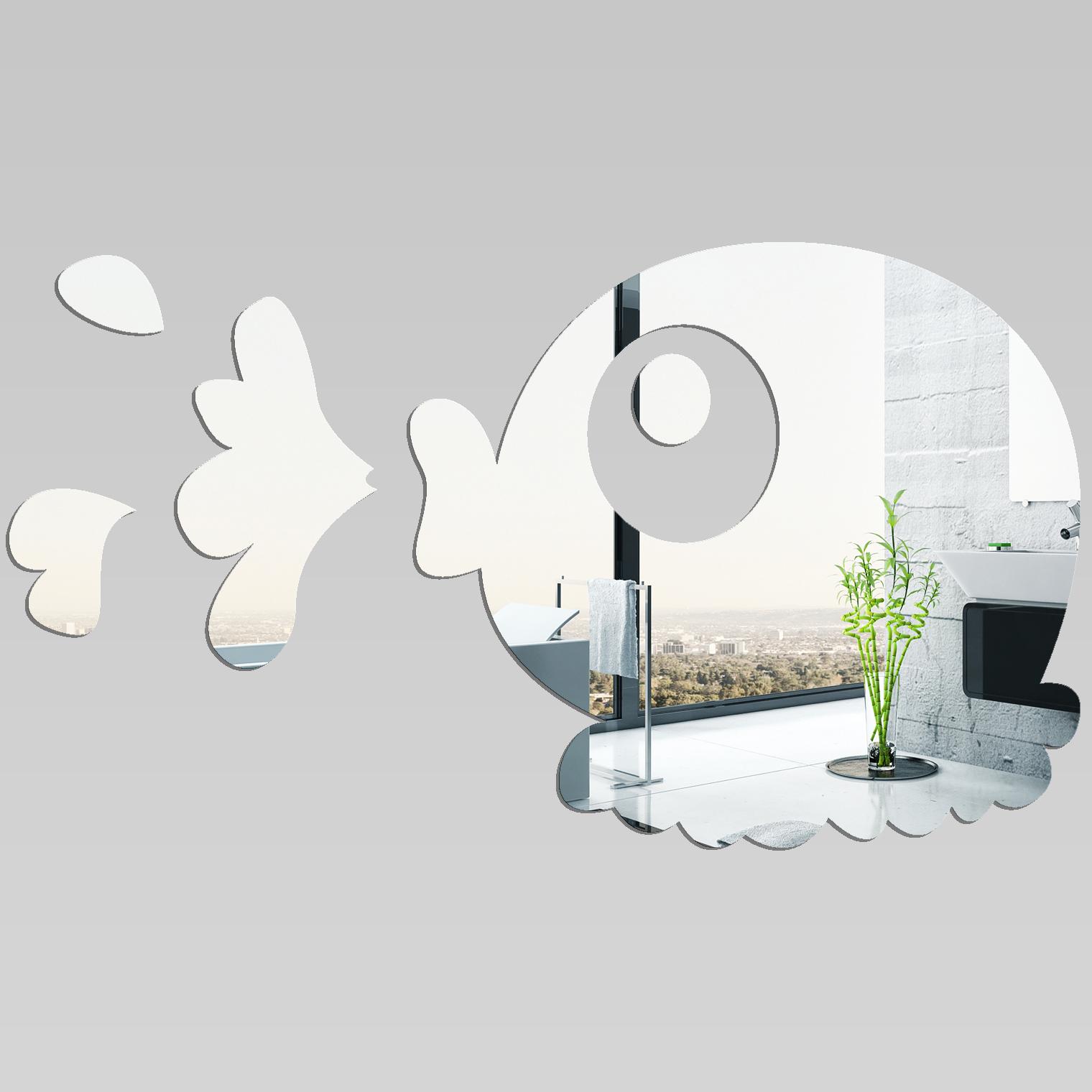 Miroir plexiglass acrylique poisson pas cher for Poisson yeux miroir